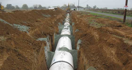 Northern Reach Pipeline  -December 8, 2008